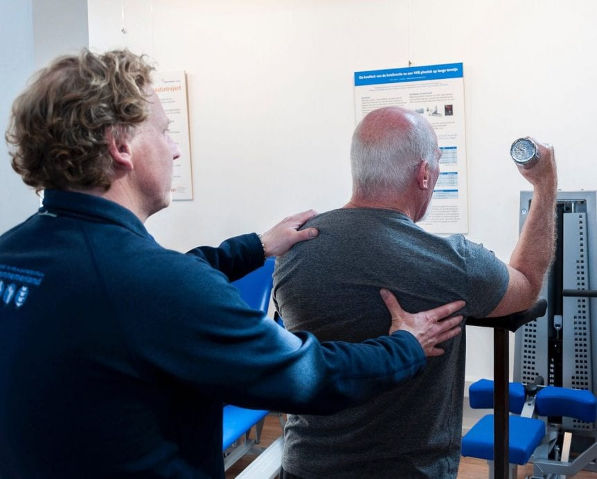 Schouderklachten Fysiotherapie Haarlem